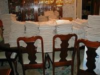 Margaret Cole's dining room table